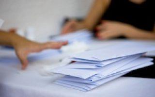 Kuverts Drucken