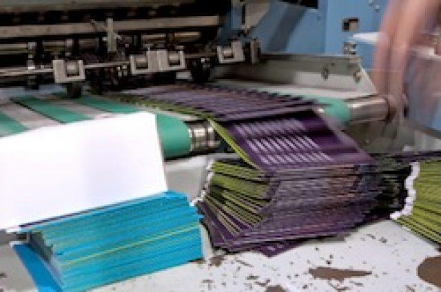 Folder im Offsetdruck
