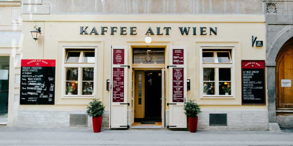 Layout & Grafik für Kaffee Alt Wien